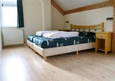 4 ruime slaapkamers